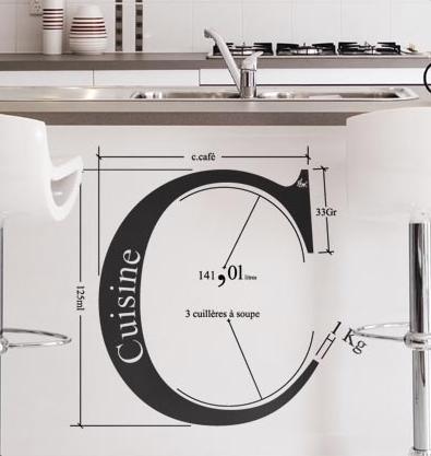 """Väggstickers kan vara mer innovativa än typ """"kök"""". Se bara ovan."""