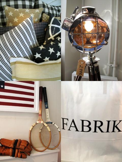 Guide till Stockholmsinredningsbutiker: Fabrik