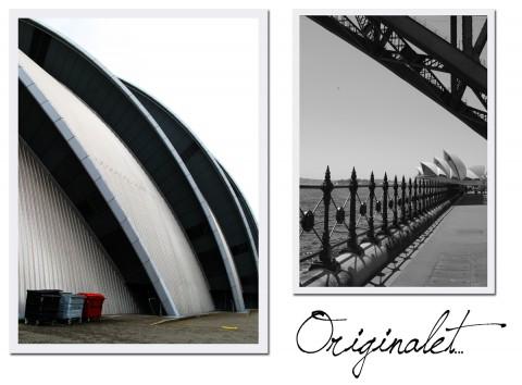 Det är roligt att Glasgow satsar på modern arkitektur när stan i sig ser så trolsk och gammeldags ut. Men Clyde Auditorium, eller the armadillo, ser faktiskt bara ut som en Sydney Opera House-kopia...