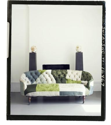 Man sitter nog lite skönare i en så här fin soffa...
