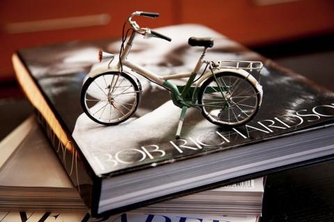 Miniatyrer faller jag alltid handlöst för, den här cykeln är ju döfin!
