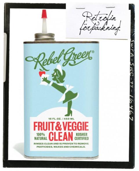 Rebel Green, ekologiska produkter i retrofin förpackning.