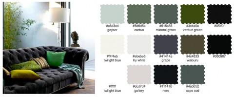 Svala och elektriskt gröna färger i skön mix.