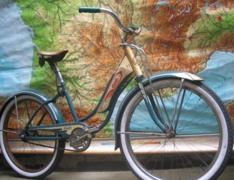 Om man ändå ska ha en cykel kan den väl få vara så här fin?