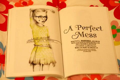 I varje nummer hittar man också finurliga illustrationer.