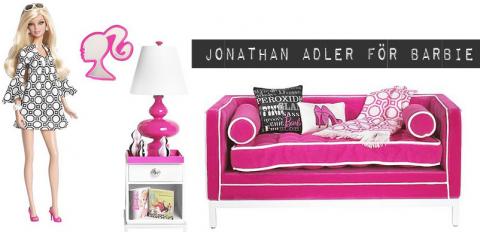 Jonathan Adler för Barbie.