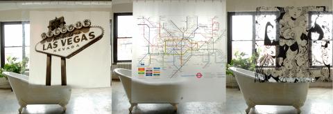 Las Vegas, Londons tunnelbanekarta eller lite illustrationer?