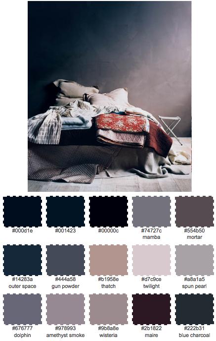 Dagens palett: Mjuka filtar