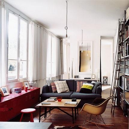 En Eames-rocker pryder vilket hem som helst.