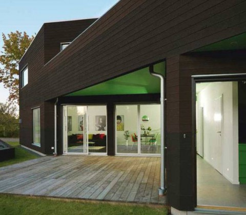 Varför inte måla taket grönt?