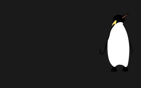 En pingvin kanske känns passande så här års?