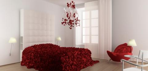 Ett magiskt rum i Maison Moschino.