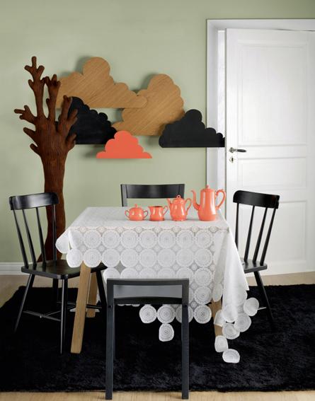 Finska stylisten Susanna Vento har arrangerat den härliga bilden.