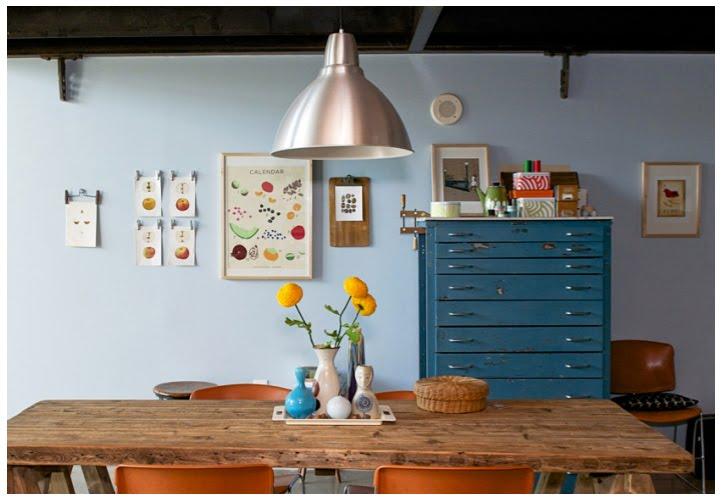 Typiskt trendigt rum, hittat via en blogg som också knyter an till det aktuella butikssortimentet – Housedoctors.