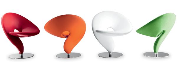 Question mark chair från Tonon. (Hihi.)