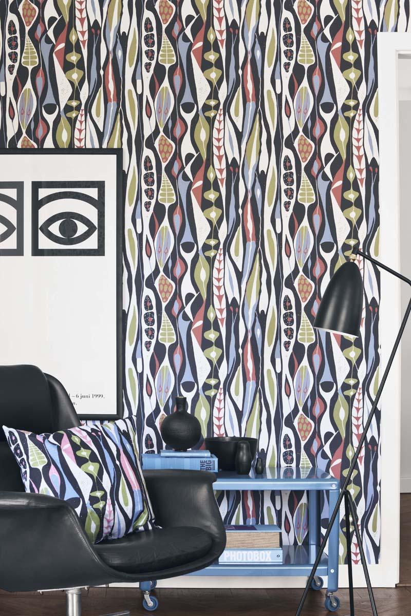 Bulbous av Stig Lindberg, finns i två färgställningar.