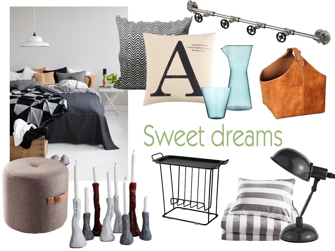 Ett höstmysigt sovrum med grå bas. Alla foton: Pressbilder