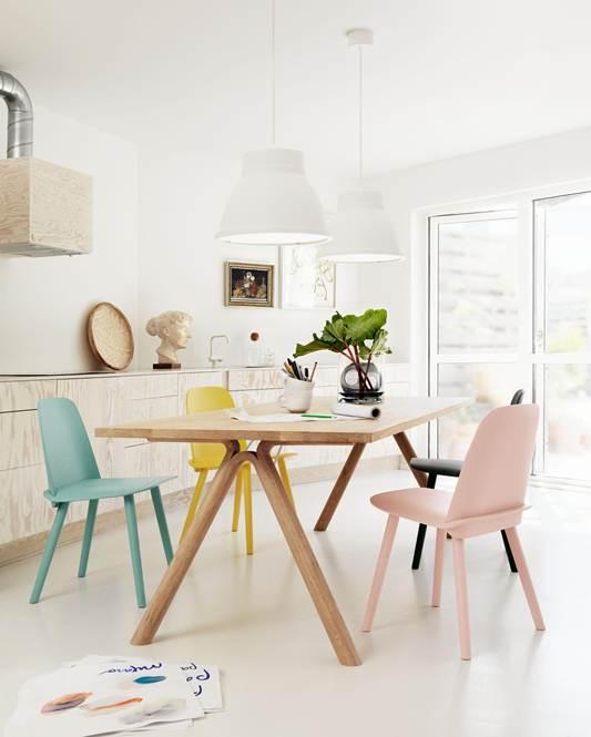 Fina Split table av Staffan Holm för Muuto. Foto: pressbild Muuto.