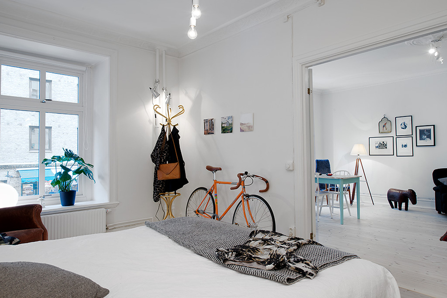 A Swedish apartment for sale – Husligheter.se