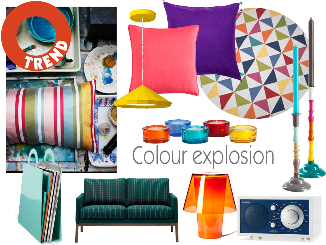 Trend: Colour explosion – Husligheter.se