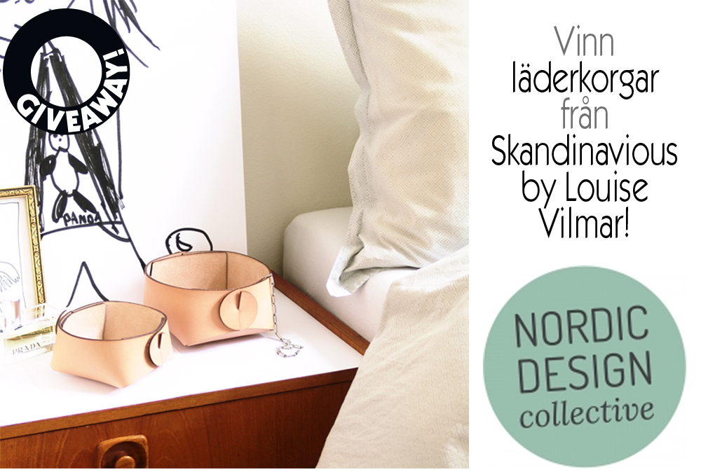 Giveaway Nordic design collective – Husligheter.se