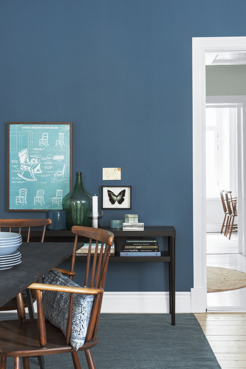 dirty pastels and dark blues from bor stapeter husligheter. Black Bedroom Furniture Sets. Home Design Ideas