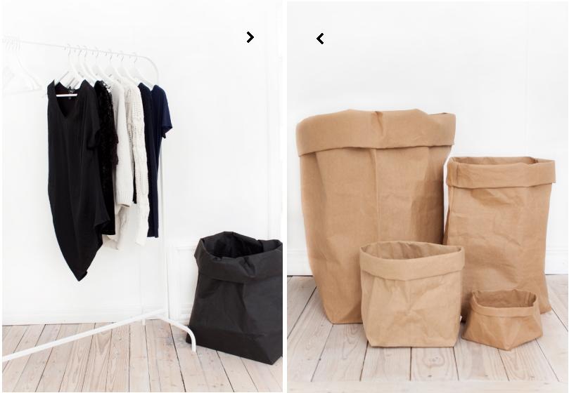 Landinskan paper bags (Whitestyle.se) – Husligheter.se