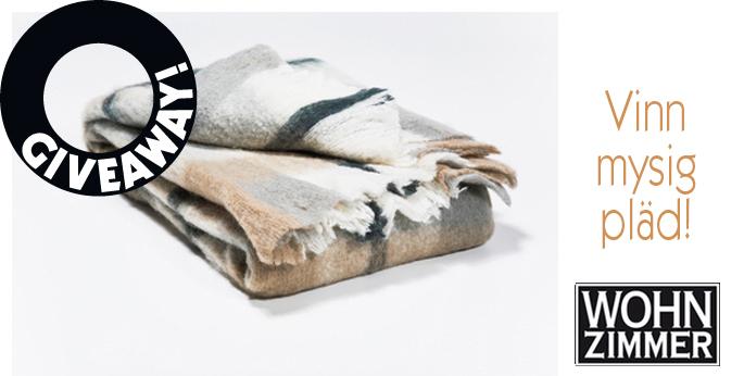 Giveaway: Blanket from Wohnzimmer – Husligheter.se