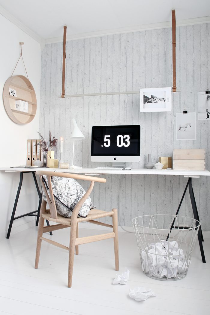 Ferm living office styling by Stylizimo – Husligheter.se