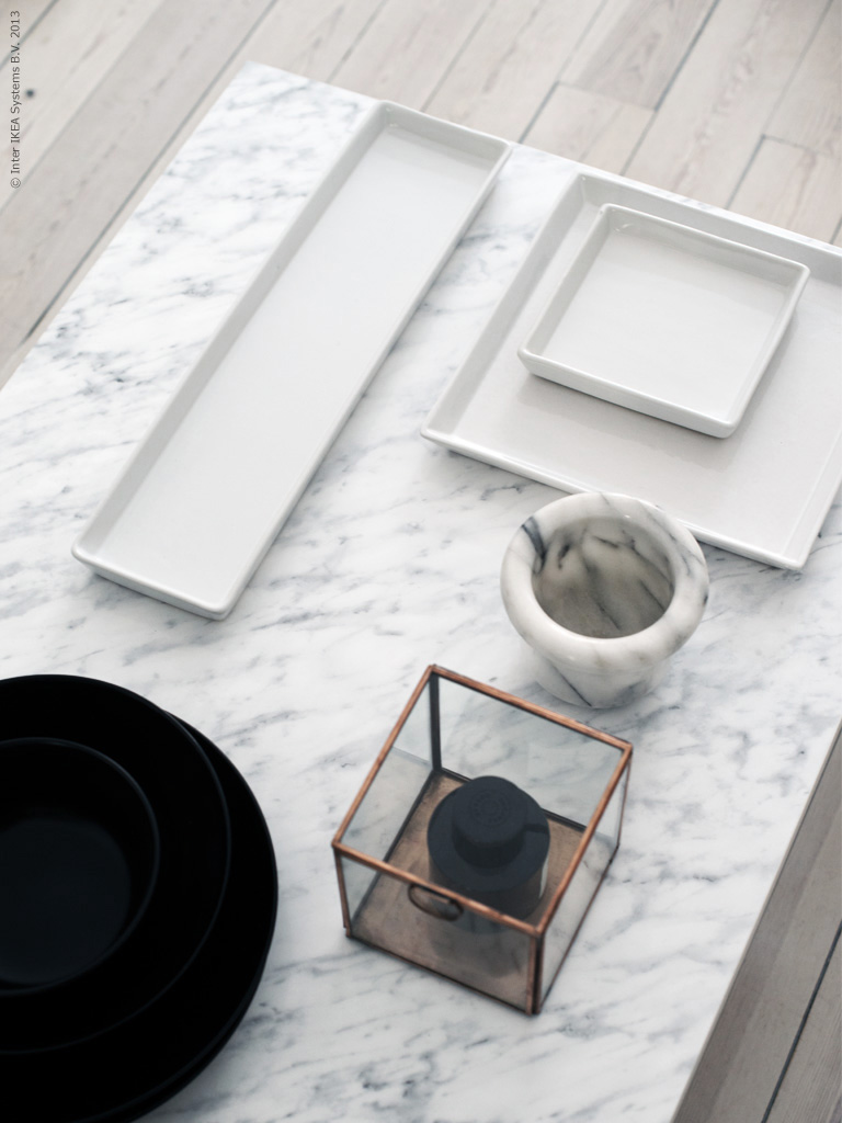 DIY marble table by IKEA (Livet hemma) – Husligheter.se
