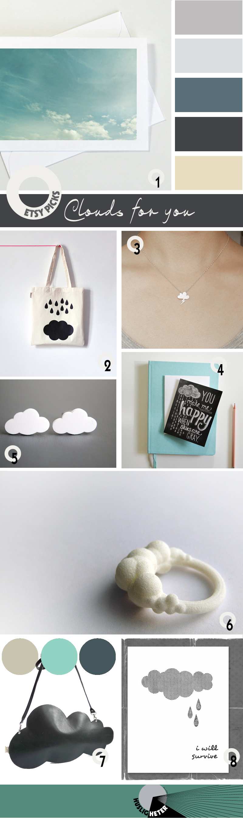Etsy picks: Clouds – Husligheter.se