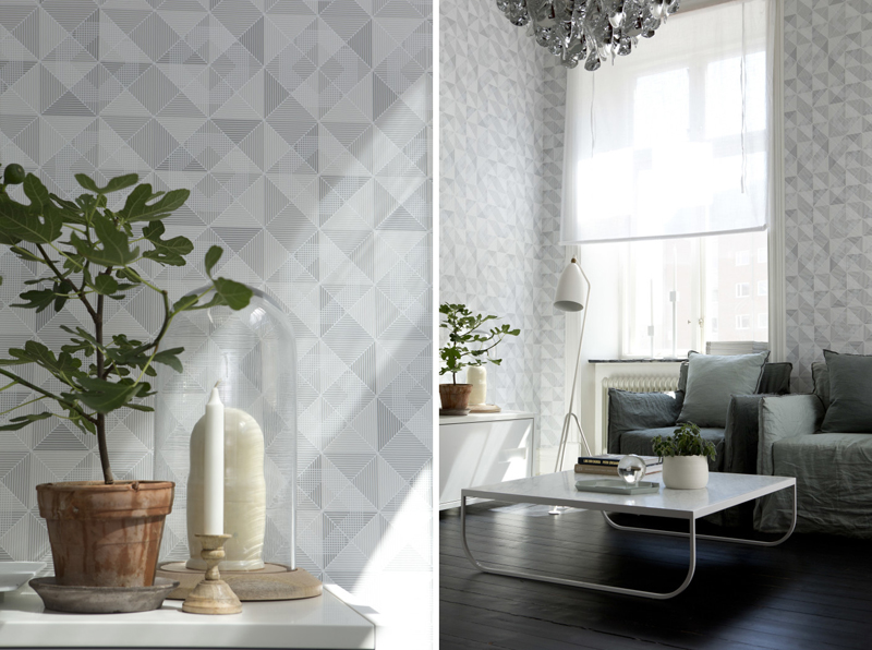 Dimensions wallpaper by Eco wallpaper – Husligheter.se