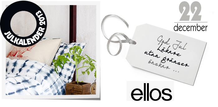 Vinn presentkort hos Ellos