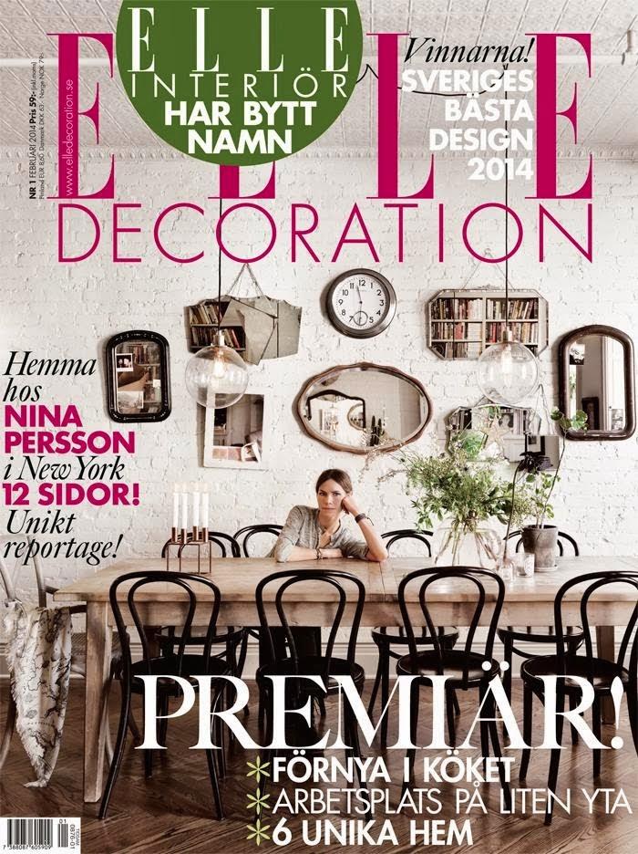 Nina Persson's home (ELLE decoration Sweden) – Husligheter.se