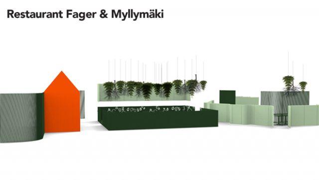 Restaurant Fager/Myllymäki at Stockholm Furniture & Light Fair 2014 – Husligheter.se