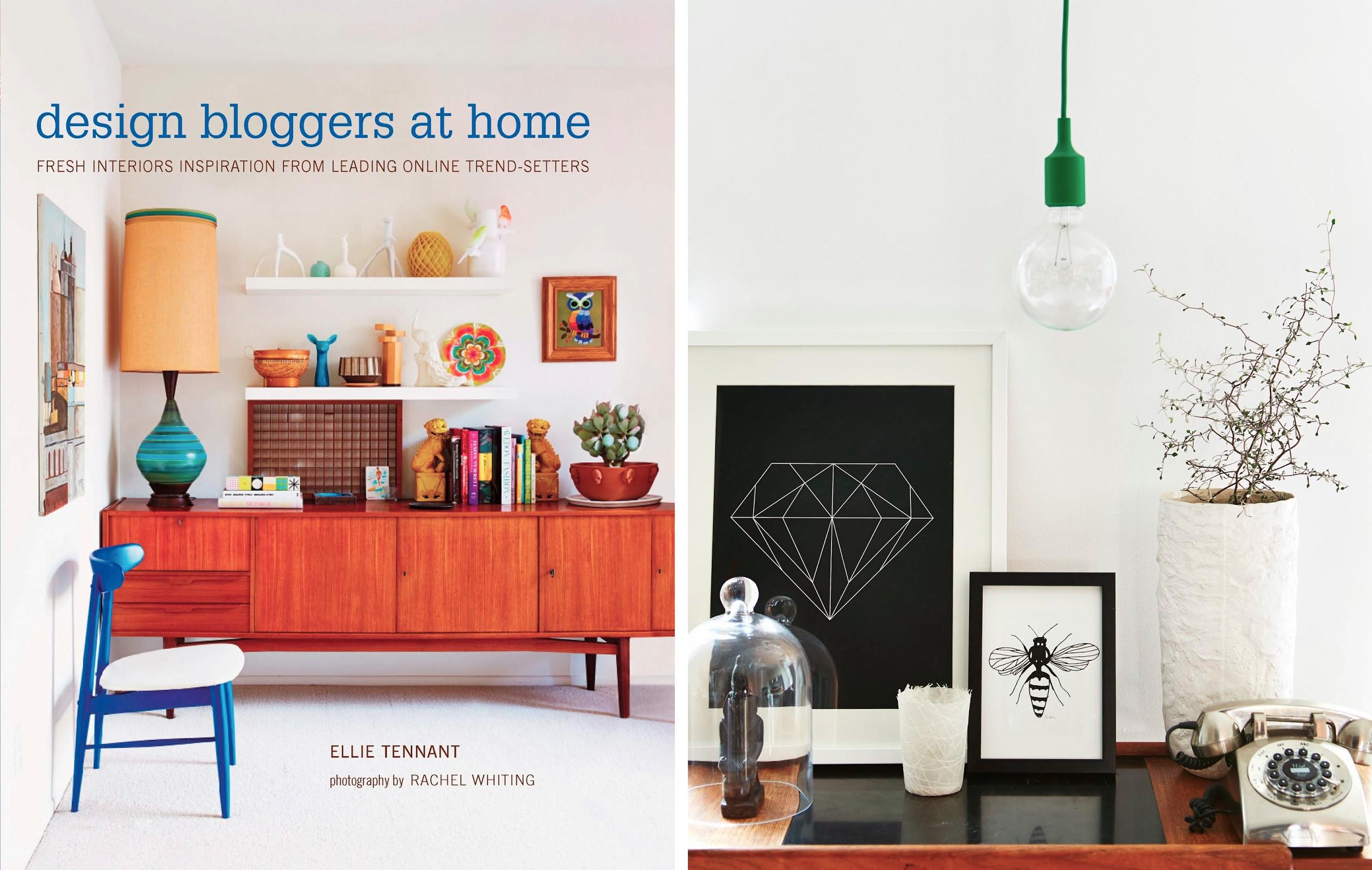 Omslag och inlagebild från Design bloggers at home (Ryland & Peters)