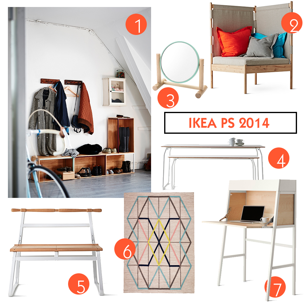Mina favoriter från IKEA PS 2014. Foto: Pressbilder, IKEA