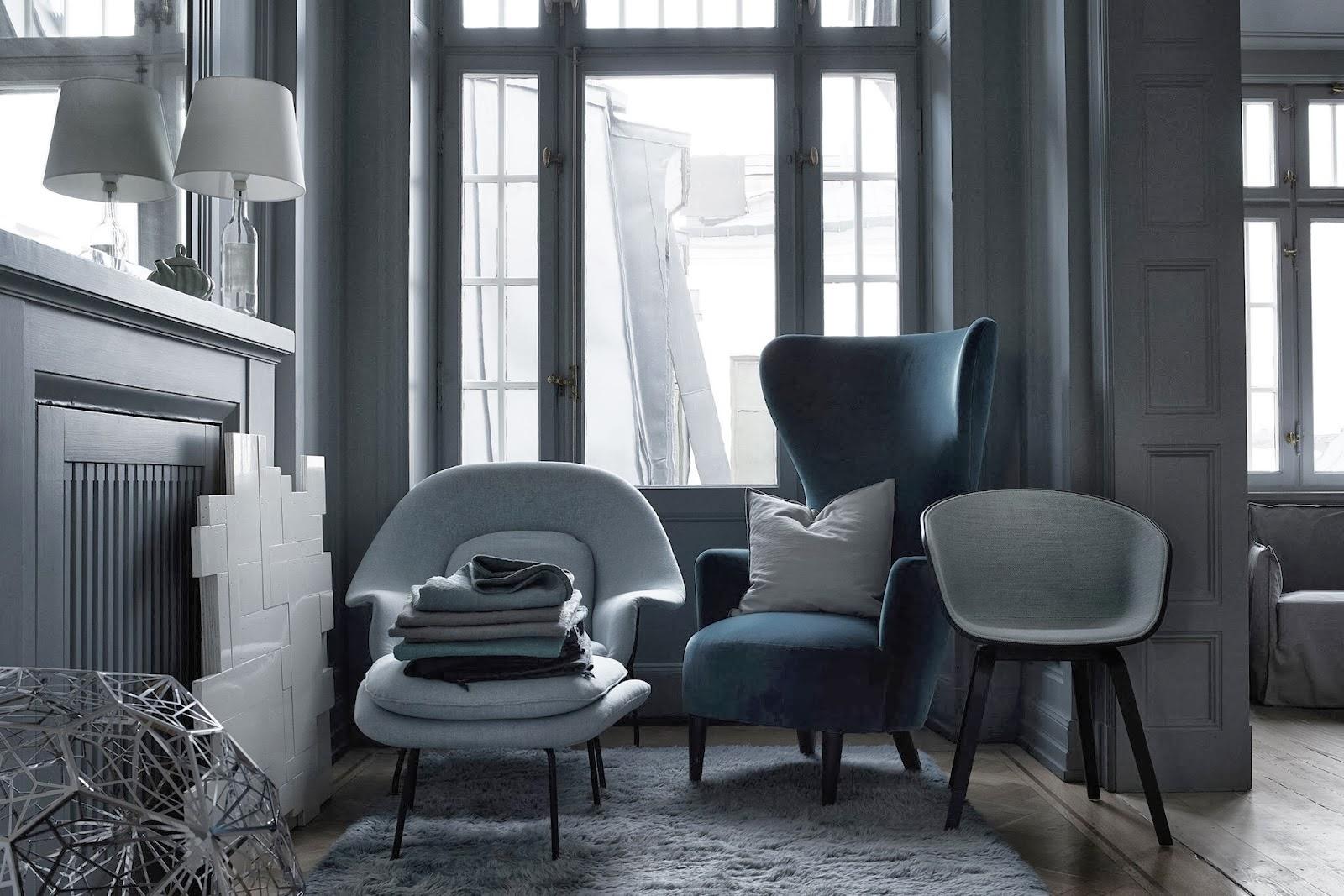 Fint i färg i nya Residence. Foto: Magnus Mårding Styling: Lotta Agaton