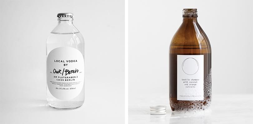 Our/Vodka och Filippa Ks tvättmedel. Foto: Pressbilder