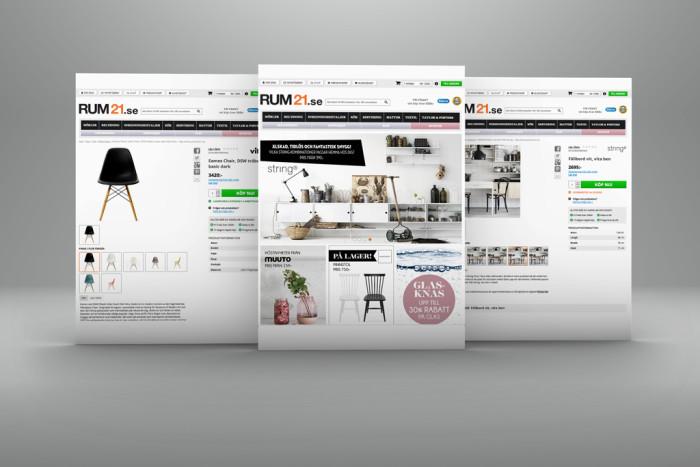 Rockader på webbshopsarenan. Foto: Från Royaldesign.ses pressrelease