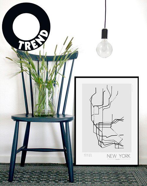 10 i topp city prints: Kreativitum (Husligheter.se)
