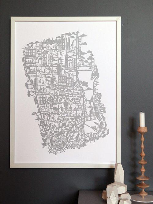 10 i topp city prints: Famille Summerbelle New York (Husligheter.se)