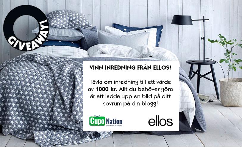 tävla om inredning från Ellos värt 1000 kronor – Husligheter.se