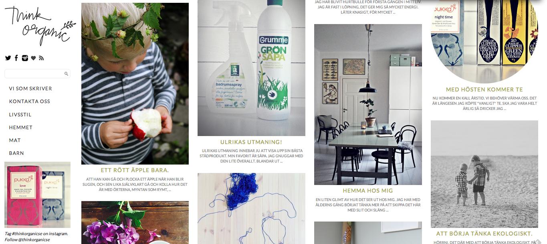 Thinkorganic – a new website – Husligheter.se