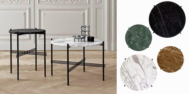 TS Table av GamFratesi för Gubi, från ca 3 320 kr. Foto: Pressbilder Gubi