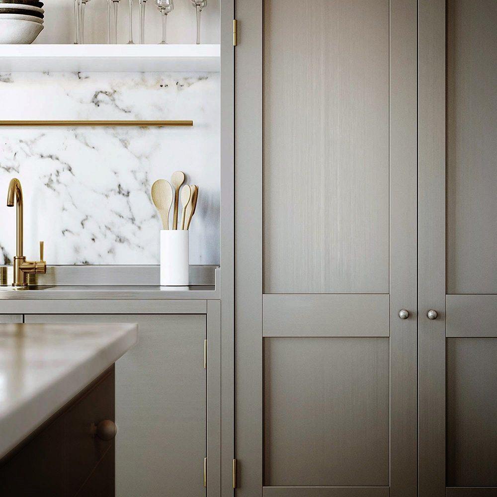 Nej, man måste faktiskt inte ha ett vitt kök om man inte absolut ...