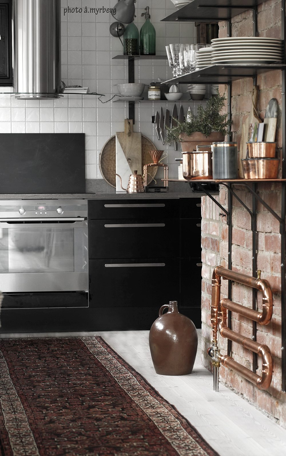 26 idéer att låna från inredningsbloggarnas kök - Inredning: Kök ...