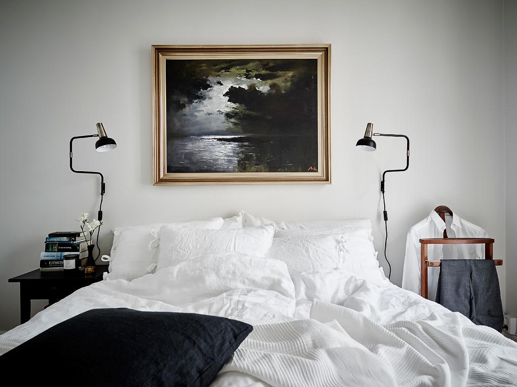 Oljemålning sovrum - Entrance mäkleri – Husligheter