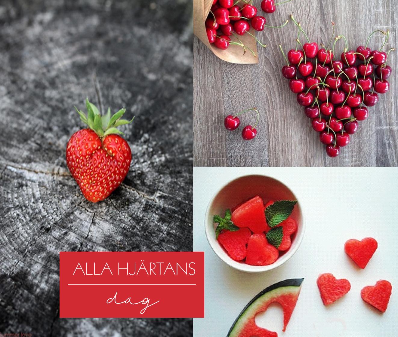 Alla hjärtans dag – frukt – Husligheter