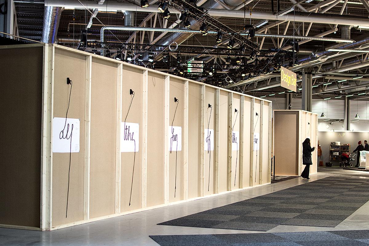 Design bar av Andreas Martin-Löf på Stockholm Furniture Fair 2016 – Husligheter